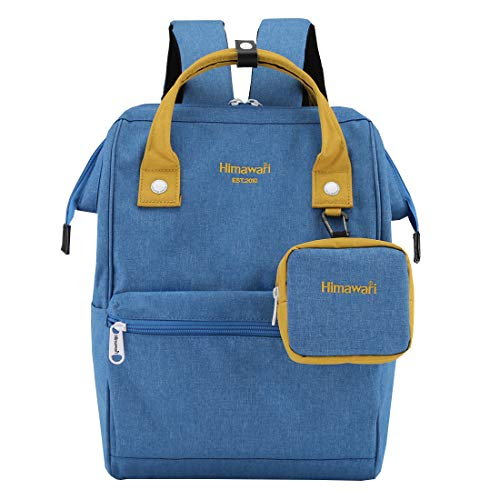 - Himawari Travel Laptop Backpack for Men Women, Huge Capacity 15.6'' Computer Notebook Bag for School College Students(Royal Blue)