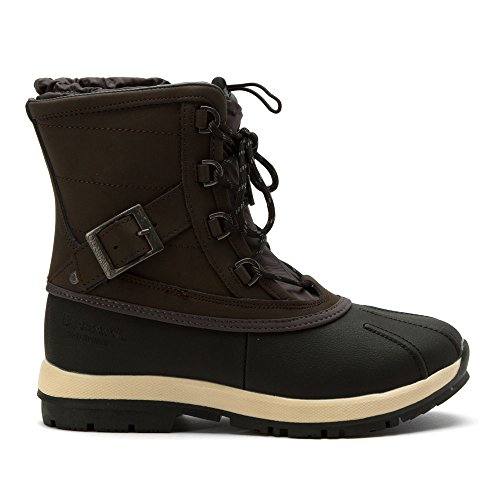 BEARPAW Brown US Winter Dark Boot Women's M 8 Nelly rqUwArf