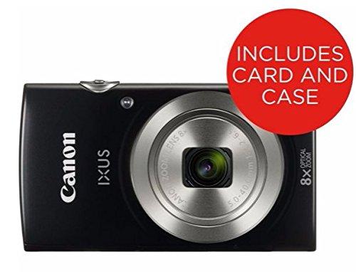 Canon IXUS 177 Black EU23 Kompaktkamera schwarz