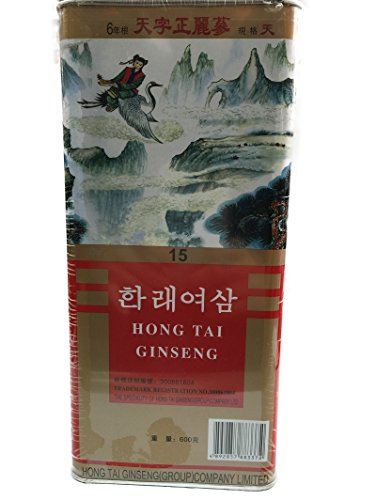 Korean Hong Tai Red Ginseng 六年根 15支 600grams 韓泰麗參 韩泰丽参 Free Worldwide AIR Mail by Hong Tai Red Ginseng