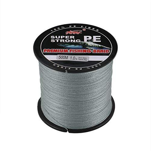 - Pandamama Fishing Tool YUDELI 1.0 Line Number Super Strong 4 Strand 500M Premium PE Braided Fishing Line Lake Multifilament Wire Woven Thread