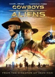 Cowboys & Aliens (Blu-ray) Disc Only in a Jewel Case