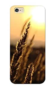 AbK365aajyp Case Cover, Fashionable iphone 5 5s Case - Landscapes Nature Flowers Wheat Plants Macro Depth Of Field