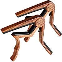 Guitar Capo, 2 Pack Capo for Acoustic and Electric Guitar...