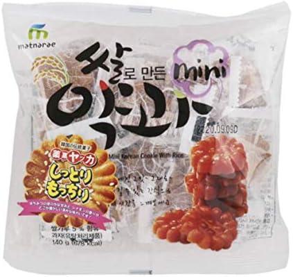 韓国の伝統菓子 薬菓 ヤッカ mini 19個入り 140gx20袋 BOX販売