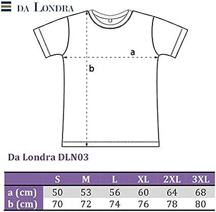 Da Londra Mens 1970 Veni Vidi Vici 50th Birthday T Shirt Gift with Year Printed in Roman Numerals