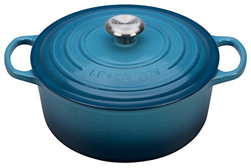 le creuset signature enameled cast iron 5 1 2 quart round. Black Bedroom Furniture Sets. Home Design Ideas
