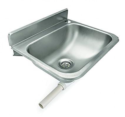 Lavabo (Acero Inoxidable, incluye desagüe, orificio para ...