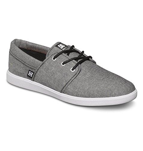 DC Men's Haven TX SE Skate Shoe,Black Rinse,9 M US