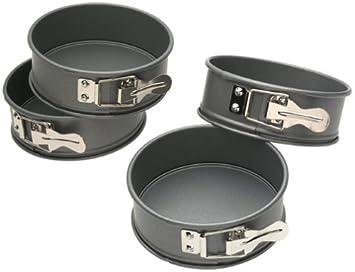 Amazon.com: Kaiser Bakeware Mini Springform Pans, Set of 4 ...