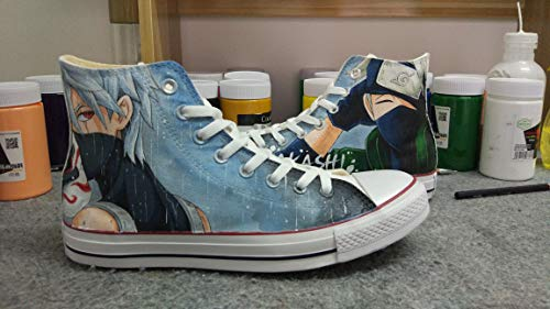 - Custom Naruto Anime Shoes Hand Painted Shoes Sneakers Fashion Shoes for Kids/Unisex Adult Shoe