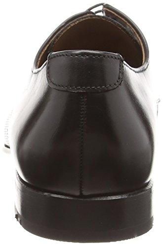 Lloyd Robot, Zapatos de Cordones Derby para Hombre Negro - Schwarz (SCHWARZ 0)