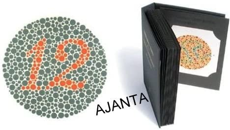 38 Plate Ishihara Tests Book For Color Blindness Testing Amazon