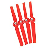 2 Pairs Propellers Rotor Blade Sets A and B Red for YUNEEC Typhoon G