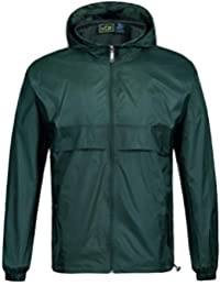 Rain Coat for Men Waterproof Hooded Rainwear
