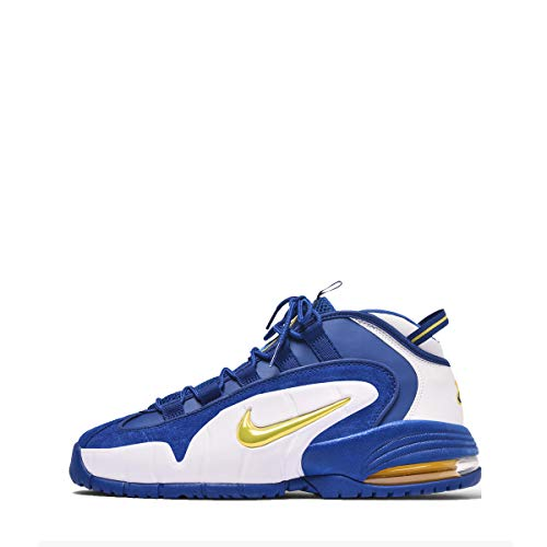 Nike Air Max Penny Men's Shoes Deep Royal/Amarillo White 685153-401 (10 D(M) US)