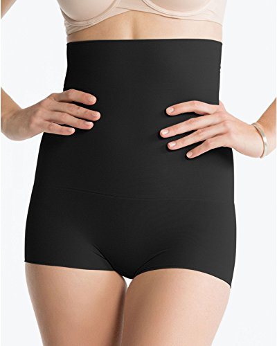 Spanx Power Series Higher Power Shorty - 1X Plus - Black
