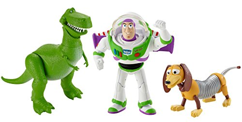 Disney/Pixar Toy Story 4″ Basic Figures #3 (3 Pack)