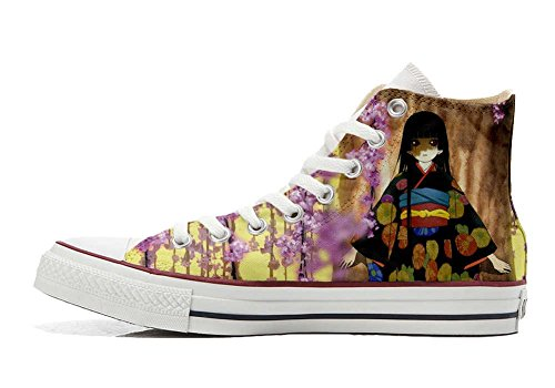 blumen All Hi Schuhe Fata personalisierte fantasy Star Converse Schuhe Customized Handwerk A7g7q