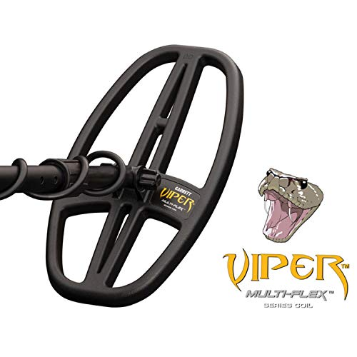 "Garrett ACE Apex Metal Detector with 6x11"" DD Multi-Flex Viper Searchcoil, 20kHz"