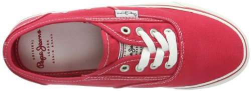 Donna 290 redwood E Sneaker 245 Alf Rosso rot London Pls30015 Jeans Pepe tPqB88
