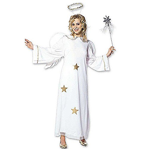 Ladies Star Angel Costume Large Uk 14-16 For Christmas Panto Nativity Fancy (Panto Costumes Uk)