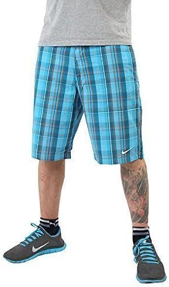 Nike Bermudas Pantalón Corto Atlético Department - algodón, Azul, 100% algodón, hombre, 33W: Amazon.es: Ropa y accesorios