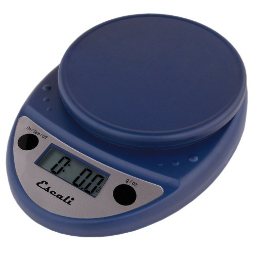 Blue Kitchen Scales: Escali Primo Digital Scale, Navy Blue Home Garden Kitchen