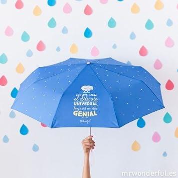 Mr Wonderful paraguas nube plegable