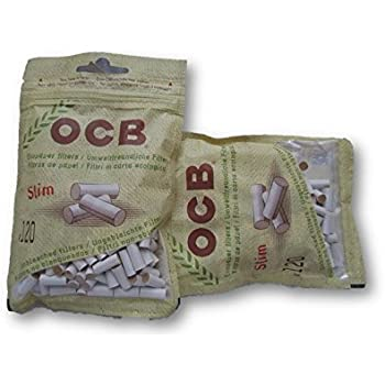 Amazon Com Ocb Organic Hemp Biodegradable Filter Tips