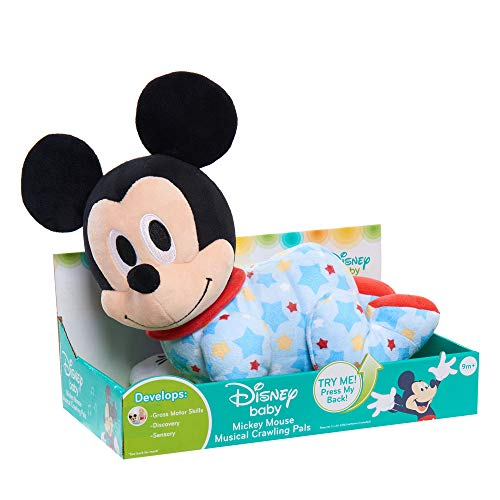 Disney Musical Crawling Mickey Plush