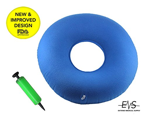 Premium Inflatable Donut Cushion