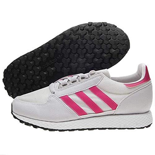 One White Originals Unisex Pink Us grey M Kid Adidas Running J Grove Big real 5 Shoe Forest Chalk 8qwwvd7