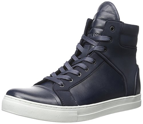 Kenneth Cole New York Men's Double Header Fashion Sneaker, Navy, 9.5 M US