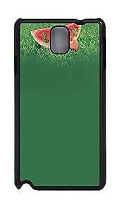 Samsung Note 3 Case Love Watermelon 2 PC Custom Samsung Note 3 Case Cover Black