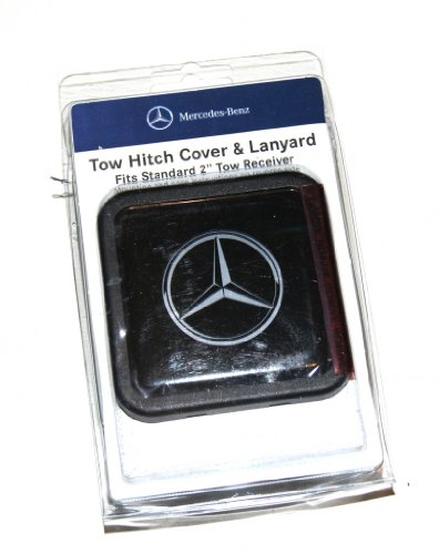 mercedes benz tow hitch cover - 1