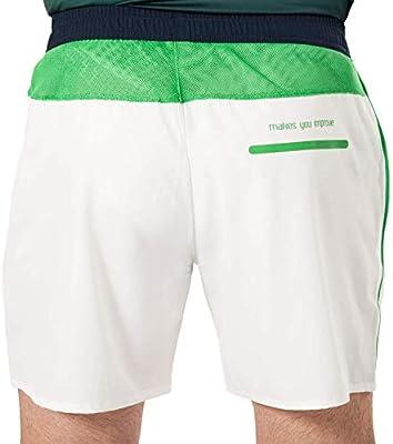 NOX Pantalon Corto Pro Blanco Verde: Amazon.es: Deportes y aire libre