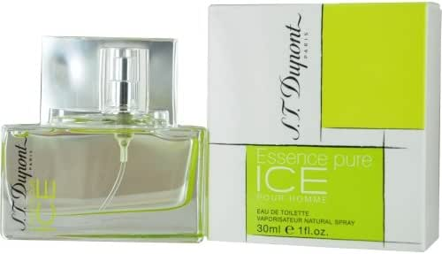 ST DUPONT ESSENCE PURE ICE by St Dupont EDT SPRAY 1 OZ - MEN