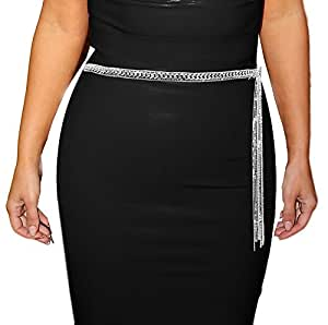 Amazon.com: Luna Sosano Womens Rhodium Plated Fashion