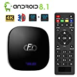 Android 8.1 TV Box,Dolamee F1 Smart tv Box 2GB RAM 16GB ROM Amlogic