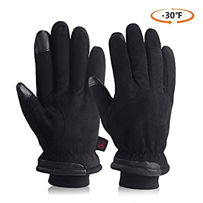 Cold Winter Work & Sports Gloves Warm Protection Thermal Insulation
