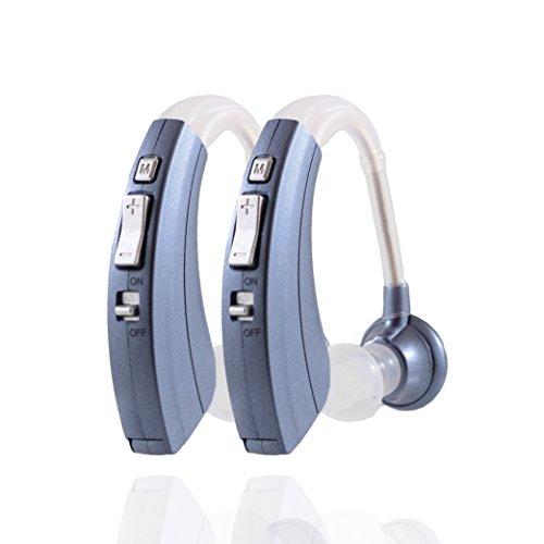 Digital Hearing Amplifier 220-B, Lowest Price, Longest Lasting, 12 Month Warranty (2)