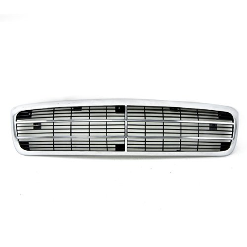 Buick Regal Grille Assembly - CarPartsDepot, 4DR Sedan FWD Chrome Frame Black Insert Front Grill Grille Assembly New, 400-1368 GM1200347 10167258