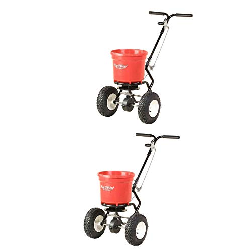 - Earthway 50 LB Commercial Broadcast Walk Behind Garden Seed Spreader (2 Pack)