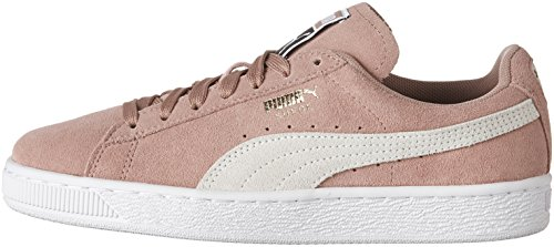 White Wn Donna Classic Suede puma Brown Pumasuede Cameo Cwf0pFq
