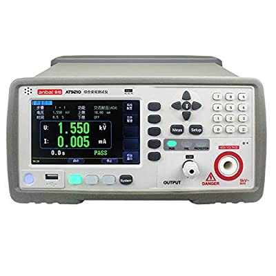 T9210 AC And DC Withstand Voltage Tester Regulation AC Voltage Measurement