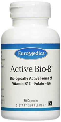 Euromedica Active Bio-B Caps, 60 Count