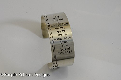 Shel Silverstein Quote Sterling Silver Cuff by Purple Pelican Designs
