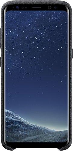 Galaxy S8 Genuine Samsung Alcantara Cover Case for Samsung Galaxy S8 - Dark Gray (EF-XG950ASEGWW)