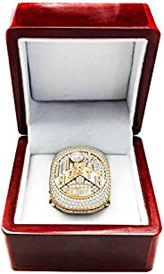 NBA Raptors Replica Championship Ring MVP 2019 Collectible Gift Fashion Size(9-13) with A Wooden Box (11)